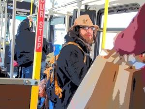 bus travail